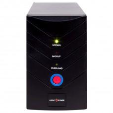 ДБЖ LogicPower LP 1400VA, 840Вт, 2xSchuko (0008294)