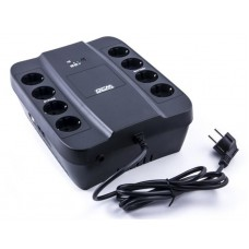 ДБЖ Powercom SPD-650U 650VA, 390Вт, RJ-45, USB (00210174)