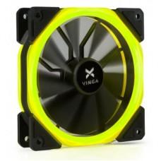 Вентилятор Vinga LED fan-02 120х120х25 мм yellow