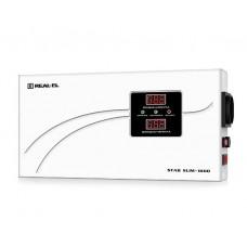 Стабілізатор напруги REAL-EL STAB SLIM-1000 1000VA, 800 Вт, 140-260 В, релейний, однофазний (EL122400007)