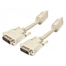 Кабель DVI24+1 папа/папа 1.8м Cablexpert (CC-DVI2-6C)