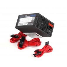 Блок живлення Frime  600Вт OCTO-600 ATX, EPS, 120мм, APFC, 6xSATA, модульне підключення