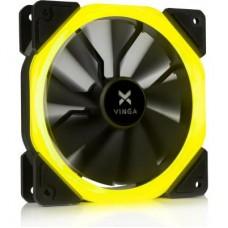 Вентилятор Vinga LED fan-01 120х120х25 мм жовтий
