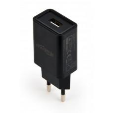 Зарядний пристрій 220V - USB EnerGenie (EG-UC2A-03) 1xUSB, 5V/2.1A Black