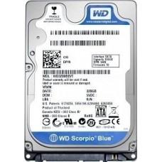 """Жорсткий диск 2.5"""" SATA3  320GB  8МВ 5400 WD Scorpio Blue (WD3200LPVX)"""