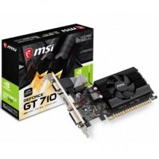 Відеокарта PCI-E nVidia GT710 MSI 2 ГБ (GT 710 2GD3 LP) / GDDR3 / 64 bit / 954/1600 MHz / DVI / HDMI / VGA
