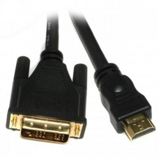 Кабель HDMI to DVI (18+1)  3м Viewcon (VD066-3M) позолоченные коннекторы