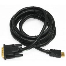 Кабель HDMI to DVI (18+1)  7.5м Cablexpert (CC-HDMI-DVI-7.5MC) v1.3