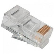 Конектор RJ-45 cat.5e UTP 8P8C Ritar PREMIUM позолоченные контакты  (13193)