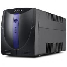 ДБЖ Vinga LED 600VA 360 Вт, 2xSchuko (VPE-600P)