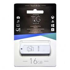 Флеш USB2.0  16ГБ T&G 011 Classic Series White (TG011-16GBWH)