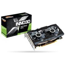 Видеокарта PCI-E nVidia GTX1660Ti Inno3D Twin X2 6ГБ (N166T2-06D6-1710VA15)