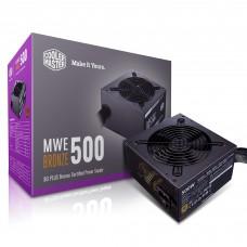 Блок живлення Cooler Master  500Вт MWE 500W Bronze V2 (MPE-5001-ACAAB-EU) ATX, 120мм, APFC, 6xSATA, 80 PLUS Bronze