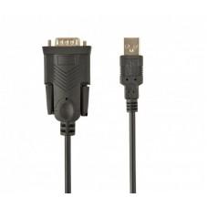 Контролер USB2.0 - COM USB А-папа/DB9M (serial port) Cablexpert 1.5 м (UAS-DB9M-02)
