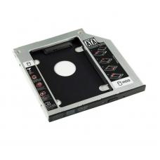 Внутрішній карман для HDD 12.7мм (HDC-25) Q100 (YT-CAHDD12.7) адаптер підключення HDD 2.5`` у відсік привода ноутбука, SATA/mSATA