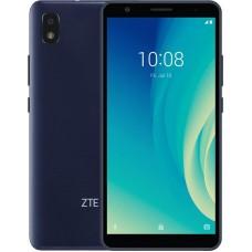"Смартфон ZTE Blade L210 1/32GB Blue 6"" (960х480) TFT / Spreadtrum SC7731E / ОЗУ 1 ГБ / 32 ГБ вбудованої + microSD до 128 ГБ / камера 8 Мп + 5 Мп / 3G (UMTS) / Bluetooth / Wi-Fi / GPS / ОС Android 9.0 (Pie) / 159х77х9.9 мм / 188.9 г / 2600 мАч / синій"