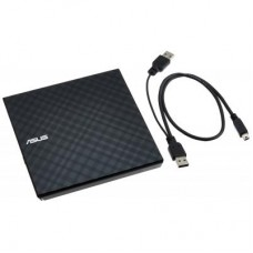 Внешний USB 2.0 привод DVDRW ASUS SDRW-08D2S-U LITE/DBLK Черный