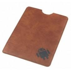 "Чехол-конверт  8"" Brown @LUX™ 812 кожа, разм:227*181мм"