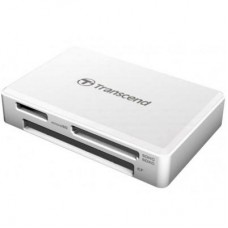 Зчитувач флеш-карт Transcend USB 3.1 White (TS-RDF8W2)