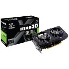 Відеокарта PCI-E nVidia GTX1050Ti Inno3D Twin X2 4ГБ (N105T-1DDV-M5CM) / GDDR5 / 128Bit / 1392/7000MHz / DVI / HDMI / DP