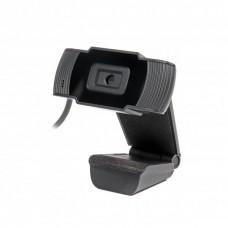 Веб-камера Maxxter WC-HD-FF-01 USB 2.0, HD 1280x720, Fixed-Focus, чорний колір