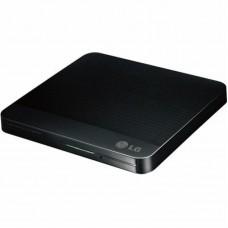 Внешний USB 2.0 привод DVDRW LG H-L Data Storage GP50NB41 slim Black