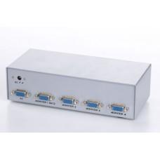 Видеосплиттер Gembird GVS124 1ПК - 4 монитора