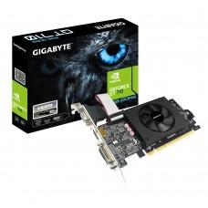 Відеокарта PCI-E nVidia GT 710 GIGABYTE 2ГБ (GV-N710D5-2GIL) / GDDR5 / 64 Bit / 954/5010MHz / VGA / DVI / HDMI