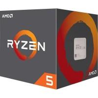 Процесор AM4 AMD Ryzen 5 1600 6 ядер / 12 потоков / 3.2-3.6ГГц / 16МБ / DDR4-2666 / PCIE3.0 / 65Вт / BOX / Wraith Stealth cooler (YD1600BBAFBOX)