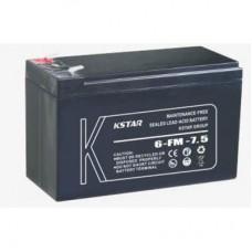 Батарея ИБП KSTAR 12В 7.5 Ач (6-FM-7.5)