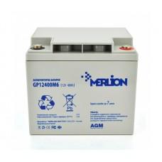Батарея ДБЖ MERLION AGM GP12400M6 12V-40Ah (GP12400M6) 06016