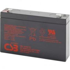 Батарея ИБП CSB 6В 9 Ач (HRL634WF2) Напряжение - 6 В, емкость - 9 Ач, назначение - для ИБП
