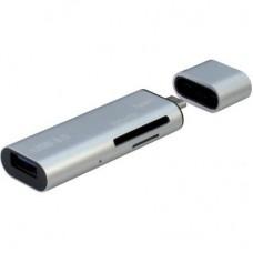 Зчитувач флеш-карт Argus USB2.0, USB Type C/ USB 3.0 Type A Male/ Micro USB 2.0 (OTG) (V15-3.0)