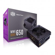 Блок живлення Cooler Master  650Вт MWE 650W Bronze V2 (MPE-6501-ACAAB-EU) ATX, 120мм, APFC, 8xSATA, 80 PLUS Bronze