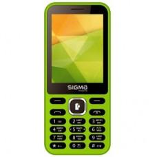 Мобільний телефон Sigma X-style 31 Power Green (4827798854785)