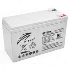 Батарея ИБП Ritar AGM RT1290, 12V-9Ah (RT1290) Белый