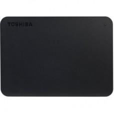 """Зовнішній жорсткий диск 2.5"""" 1TB USB3.2 Toshiba Canvio Basics Black + USB-C адаптер (HDTB410EK3ABH)"""