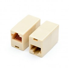 Соединитель кабеля RJ-45 Atcom 1+1 RJ45 UTP 5e (11445)