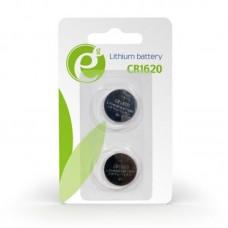 Батарейка CR1620 EnerGenie літієва (EG-BA-CR1620-01) 1шт