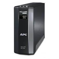 ДБЖ APC Back-UPS Pro 900VA 540Вт, 5xSchuko, RJ-11, RJ-45, USB, LCD (BR900G-RS)
