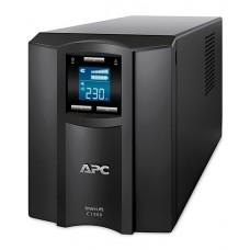 ДБЖ APC Smart-UPS C 1500VA, 900Вт, 8xIEC, USB, LAN, LCD (SMC1500I)