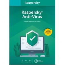 Антивірус Kaspersky Anti-Virus 2020 1 ПК 1 год Base Box (DVD-Box /No Disc) (5056244903206)
