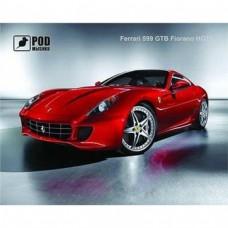 """Килимок Podmyshku, із зображенням """"Ferrari"""" 240x190x1.4 мм, ПВХ"""