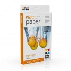 Фотобумага ColorWay глянцевая 180г/м2 10х15см  50л (PG1800504R)