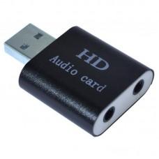 Звукова карта USB Dynamode USB-SOUND7-ALU black USB2.0