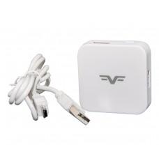 Концентратор Frime USB 2.0, 4хUSB2.0 White (FH-20021)