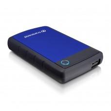 """Зовнішній жорсткий  диск 2.5"""" 2TB USB3.0 Transcend StoreJet серия H3 Blue (TS2TSJ25H3B)"""