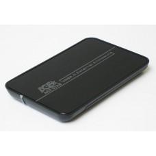"""Зовнішня кишеня для HDD SATA 2.5"""" AgeStar SUB 2A8 (Black) USB2.0 чорний, без гвинтів. кріплення, алюміній"""
