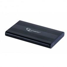 """Зовнішня кишеня для HDD SATA 2.5"""" Gembird EE2-U2S-5 USB2.0, чорний, алюміній+пластик"""