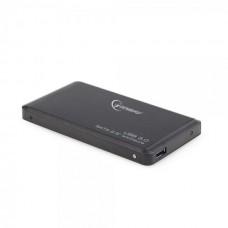 """Зовнішня кишеня для HDD SATA 2.5"""" Gembird EE2-U3S-2 USB3.0, чорний, алюміній"""